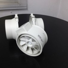 125 Axial Fan for round ducts