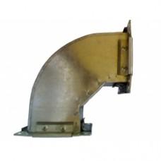 Rectangular elbow skew