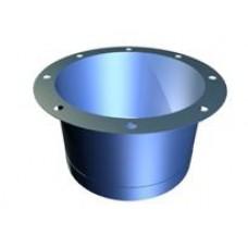 Flexible cylindrical sleeve