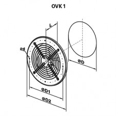 OVK 4E 450 Axial Fan