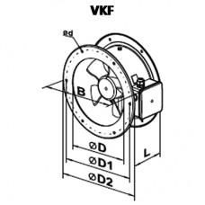 VKF 2E 250 Axial Fan