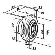 125 Centrifugal Fan