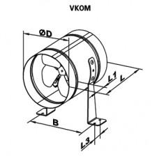 VKOM 200 Axial Fan
