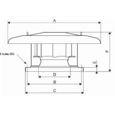 CRHT/4-400 Centrifugal Fan