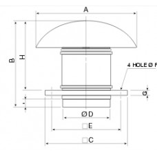 TH- 500/160 Roof Extractor
